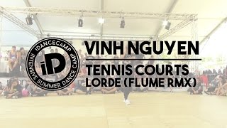 """Vinh Nguyen - """"Tennis Courts by Lorde (Flume remix)"""" - iDanceCamp 2014"""
