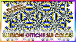 🎨Il significato dei colori: illusioni ottiche pazzesche sui colori | Illusioni ottiche del cervello
