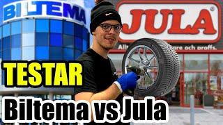 JÄMFÖR BILTEMA VS JULAS PRODUKTER