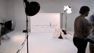 Baby fashion shoot: Behind the scenes