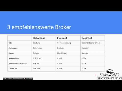 Broker app vergleich