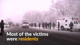 Dozens killed in Turkish cargo jet crash in Kyrgyzstan