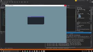 AlphaEngine - Urho3D - ImGui -Editor Prototype UI - CG