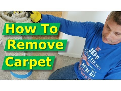 How To Remove Old Carpet And Cut Carpeting