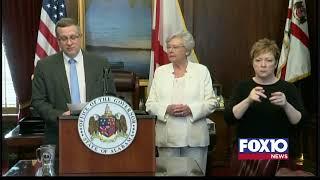 Alabama Governor Kay Ivey press conference on coronavirus.