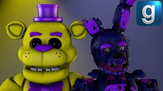 Gmod FNAF | FNAF 3 Burnt Down Map! - Xman 723