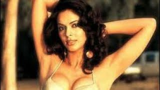 Mallika Sherawat during the shooting of a music video