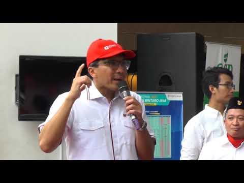 CIMB Niaga Upacara 17an  di Bintaro  ter kece di Indonesia