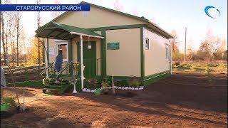 Волонтеры-медики помогли привести в порядок территорию нового ФАПа в деревне Нагово