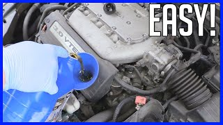 Engine Oil Replacement Honda Accord