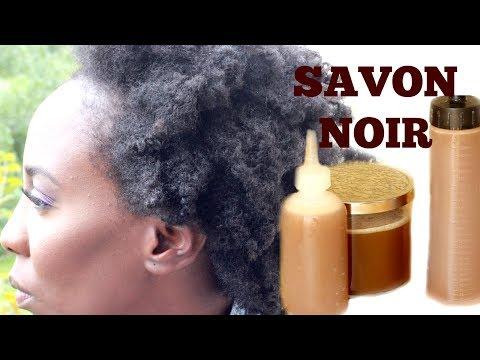 CHEVEUX NATURELS : FAIRE SON SHAMPOING/NETTOYANT AU SAVON NOIR !