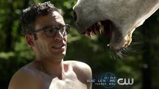 Constantine Sends A Unicorn to Hell | Legends Of Tomorrow 4x01 | The Virgin Gary