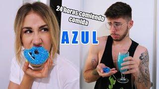 24 HORAS COMIENDO AZUL  Hermanos Jaso