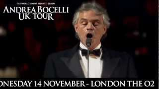 Andrea Bocelli 2012 UK TOUR
