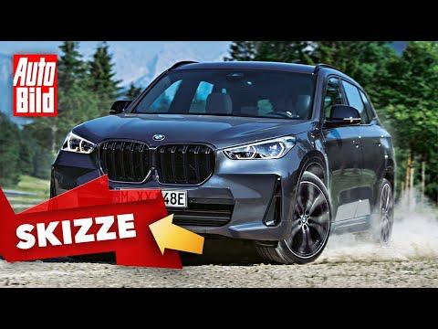 BMW X1 (2022): Skizze - Neuvorstellung - SUV - Abmessungen - Info