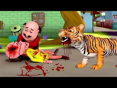 Patlu Was Attacked By Tigers New Episode 2018 By Aplus Cartoon
