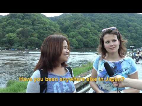 Travelers' Voice of Kyoto:ARASHIYAMA Area Interview 005