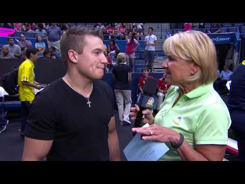 Jonathan Horton - Interview - P&G Championships - Men - Day 2