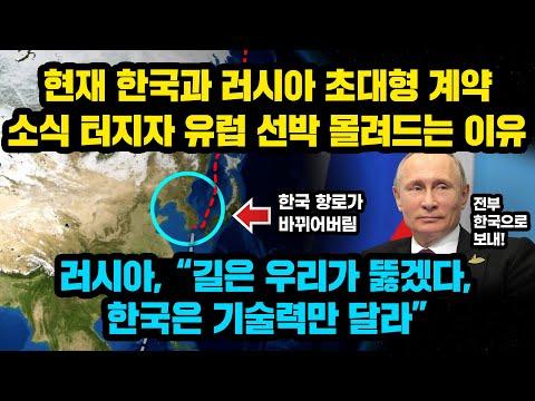 현재 한국과 불곰국 러시아의 초대형 계약 소식 터지자 베트남이 세상잃은 표정되버린 이유