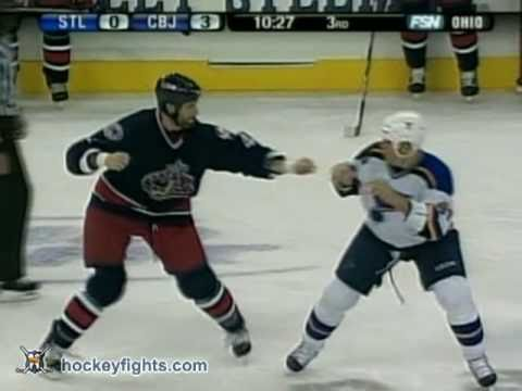Aaron Downey vs Jody Shelley
