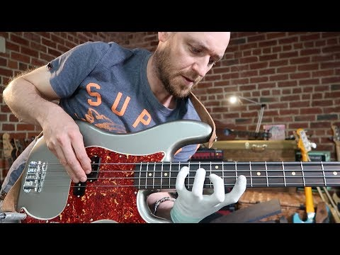 How to play BASS FILLS... like the pro's do it.