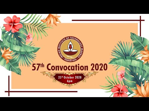 57th Convocation of IIT Madras (2020)