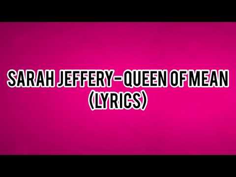 Sarah Jeffery- Queen of Mean (Lyrics) (Descendants 3)