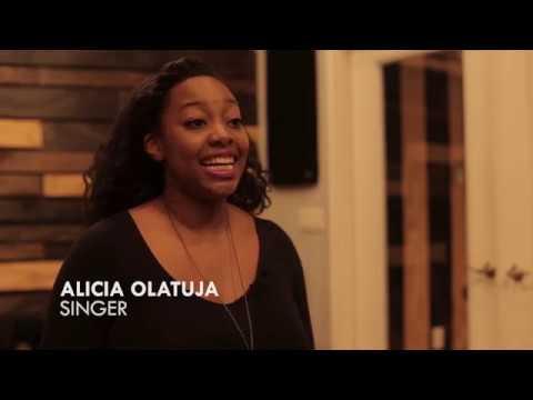 Alicia Olatuja - Intuition ( Kickstarter video ) online metal music video by ALICIA OLATUJA