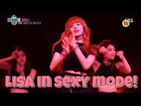 BLACKPINK LISA DANCE (focus) in SEXY MODE