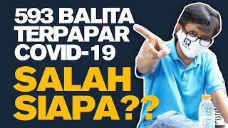 593 Balita Terpapar Covid-19 di Jabar, Salah Siapa ??