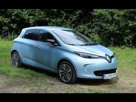 Renault Zoe 2015 test