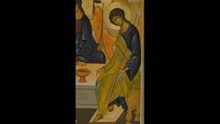 Icoana pictata Sfanta Treime - Etapele realizarii unui vesmant