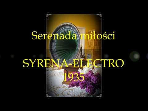 DREAMY SERENADE- SERENADA MIŁOŚCI- MIECZYSŁAW FOGG 1935!