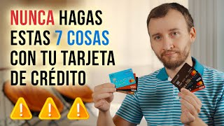 Video: 7 Cosas Que Nunca Debes Hacer Con Una Tarjeta De Crédito
