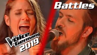 Beyoncé - Daddy Lessons (Patrick Rust vs. Mariel Kirschall) | The Voice of Germany 2019 | Battles