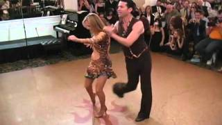 Marlee Matlin and Fabian Sanchez Dance at ICODA's Fundraiser