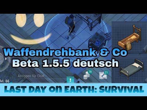Last Day on Earth: Survival - Waffendrehbank, Bett und Pferdetrog