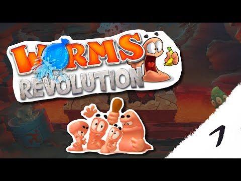 Worms Revolution #1 # Keď ti nejde karta