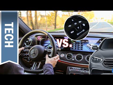 Neue E-Klasse: Touch Lenkräder von Mercedes & VW im Vergleich, Assistenzsysteme und Bedienung