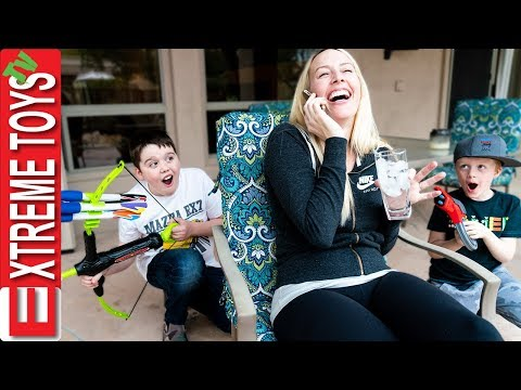 Babysitters House Adventure! Ethan and Cole go to Aunt Jenna's House!