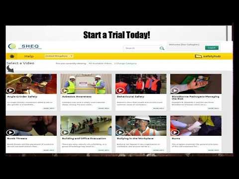 SHEQ Portal – Safety Hub