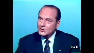 Face à face François Mitterand et Jacques Chirac, bel exemple de réponse à une objection