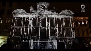 Central 11 TV - Video Mapping con Medusa Lab