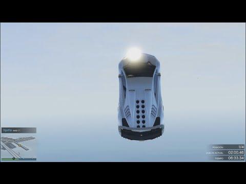 GTA 5 ONLINE – SALTO SUPER DIFÍCIL!! – CARRERA GTA 5 ONLINE