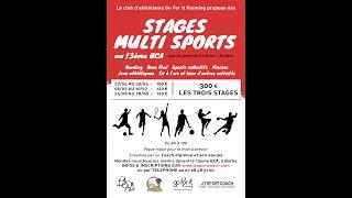 INFOS // Stages enfants multisports 2020 -  BASSIN CHAMBERIEN au 13ème BCA