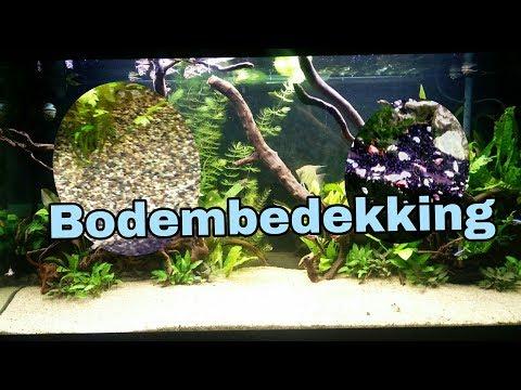 BODEMBEDEKKING aquarium, zand of grind? voedingsbodem? //Nickey//