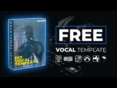 Free Vocal Recording, Mixing, & Mastering Template