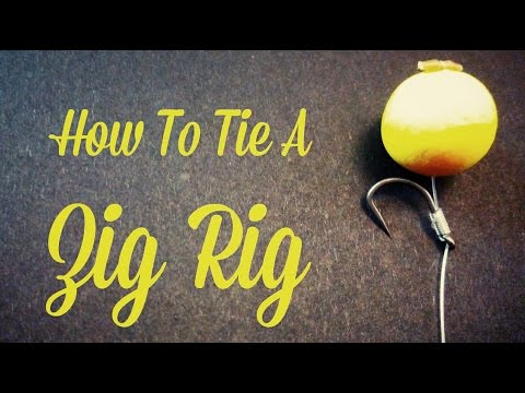 a821c573bf96e CARP FISHING TV How to tie The Zig Rig