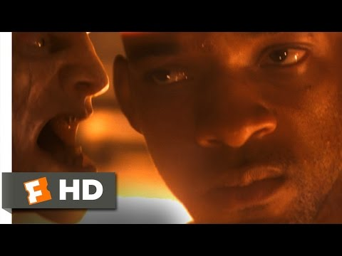 I am legend  10 10  movie clip   alternate ending  2007  hd