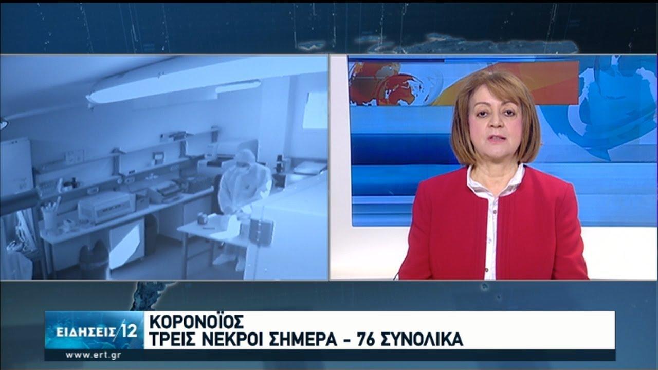 Ελεγχόμενη η πανδημία στη χώρα μέχρι τώρα – Τρεις ακόμη θάνατοι   06/04/2020   ΕΡΤ